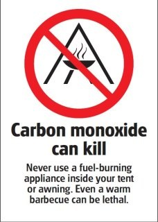 dangers of cooking in ur tent image